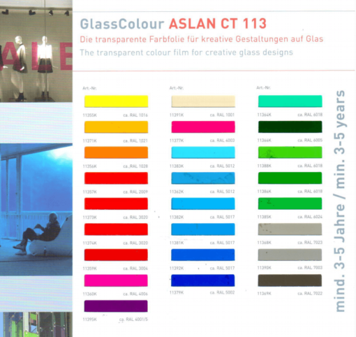 ASLAN CT113_new2018colors