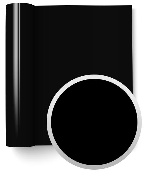 3M Scotchacal Serie 80 Fundición - Negro Brillo