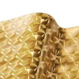 VinylEFX Metalizados Large Engine Turn Gold