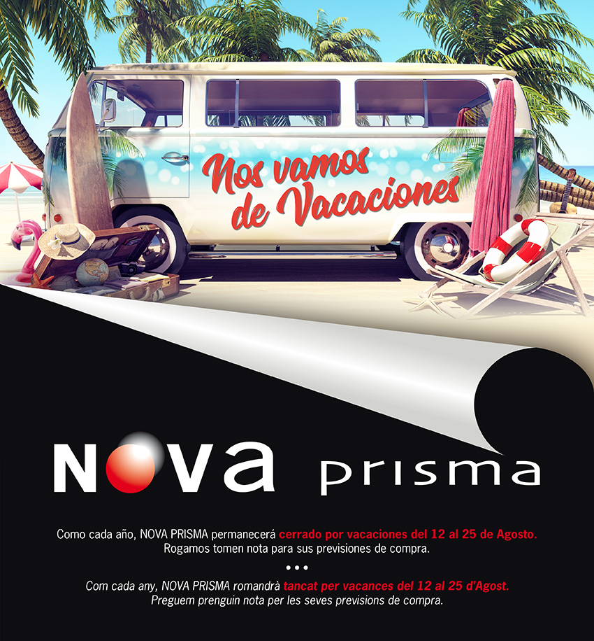 Nova Prisma Digital Vacaciones